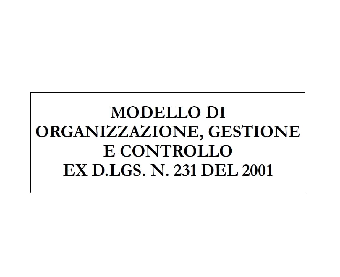 M.O.G.C. ex D.Lgs. 231/01