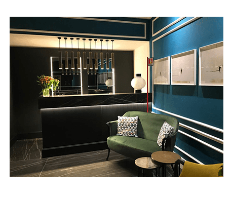 REFERENZA HOTEL ZURIGO MILANO
